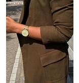 IKKI Horloge DANNY, DA76, 41mm, Gold-White