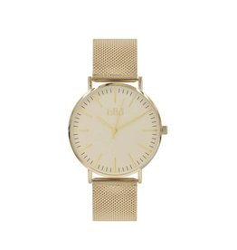 IKKI Horloge DANNY, DA76, 41mm, Gold-White