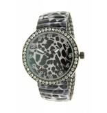 Ernest Horloge Panther Stones - Black - HOR 7191