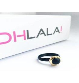 Ohlala Set Twist Black-Gold Matt Black 8mm