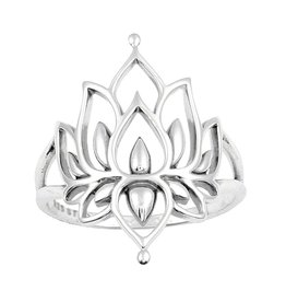 Lotus Ring - 925 Sterling Zilver
