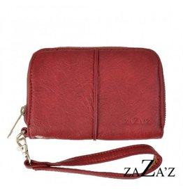 Zaza'z Portemonnee Coral Red