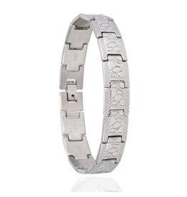 Edelstalen Armband - Rocks - 20,5 cm