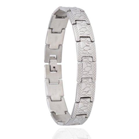 Armband - Rocks - Edelstaal - 20,5 cm