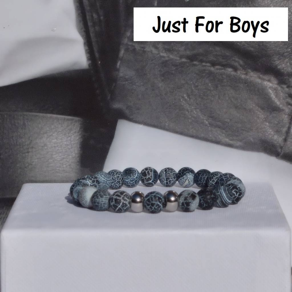 Sazou Jewels Armband Boys Natural Stones Blue