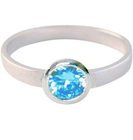 KIDZ CHARMIN*S ROUND DIAMOND BABY BLUE KR04