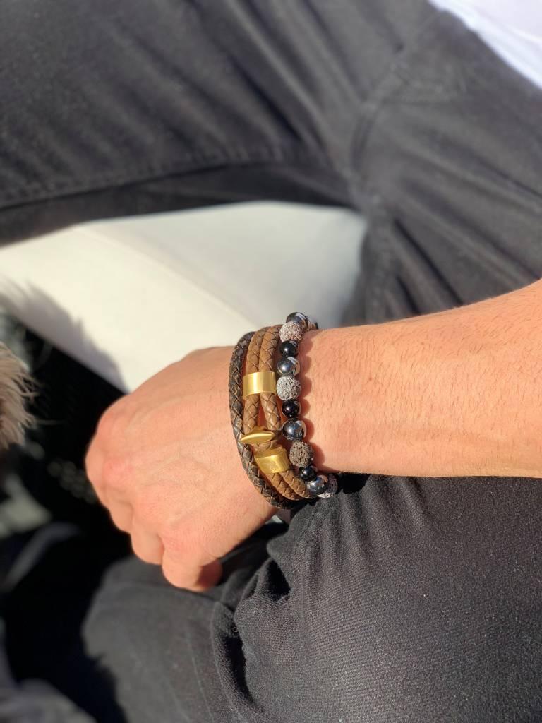 Armband Prince Charming - Brown