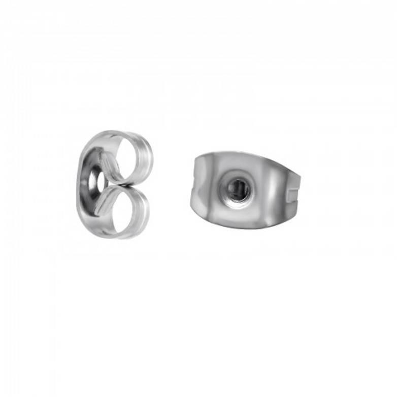 Vlinders voor oorstekers 316L chirurgisch roestvrij staal
