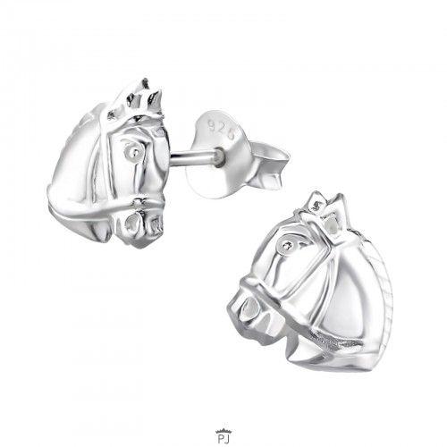 PJ Oorstekers Paardenhoofd 925 Sterling Zilver