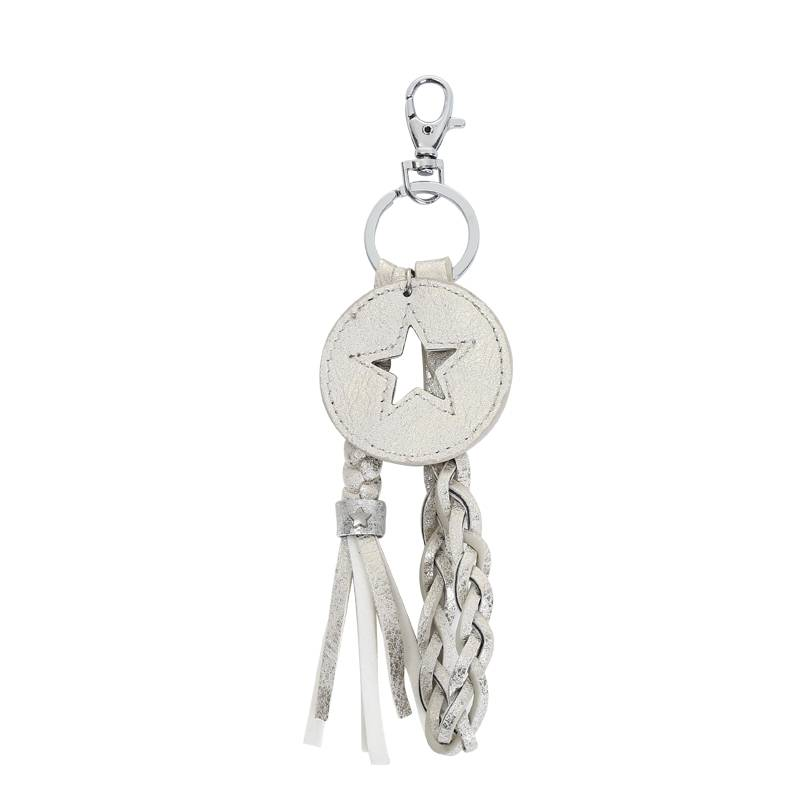Key Chain Round Star Combination GOLD