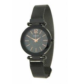 Ernest Horloge Magnet Zwart-Zwart