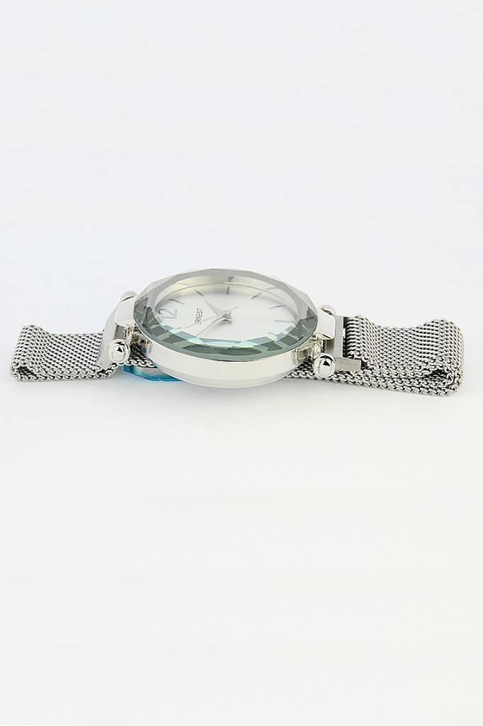 Ernest Horloge Magnet Zilver-Zwart