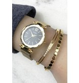 Armband Infinity Edelstaal Gold Plated
