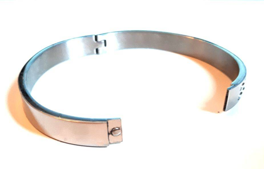 Armband Square Edelstaal Zilver