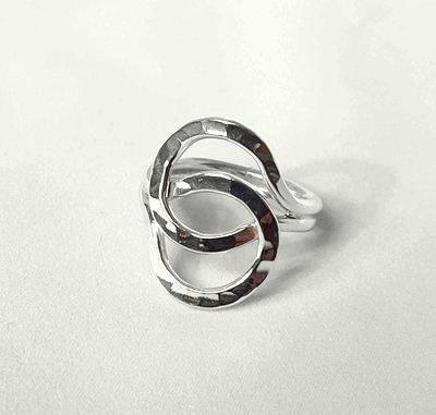 Zilveren Ring Together - 925 Sterling Zilver