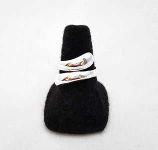 "Zilveren ring ""Modern Drops"" - 925 Sterling Zilver"