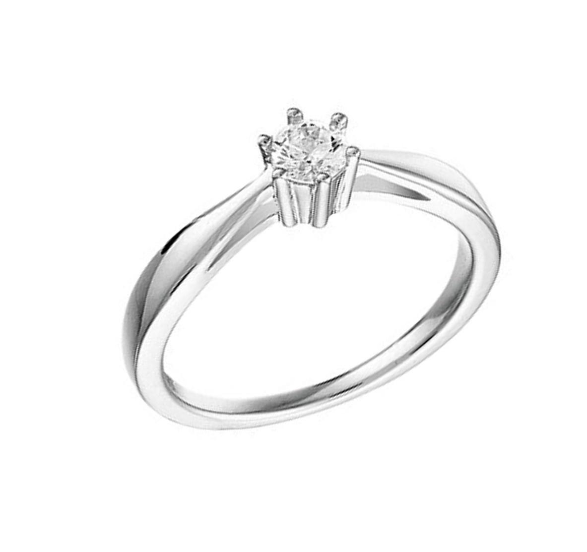 New Bling Zilveren Ring Zirkonia - 925 Sterling Zilver