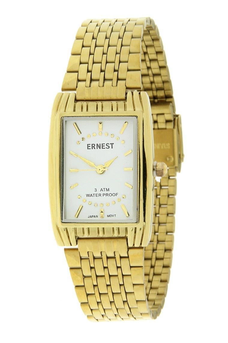 Ernest Dames Horloge Clasica Goud Wit