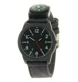 Ernest Horloge Compass - Black