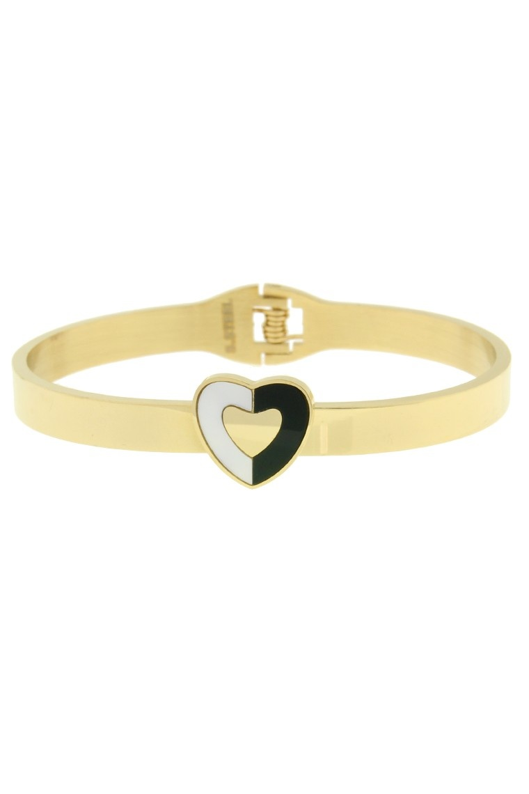 Armband Heart - Gold Stainless Steel