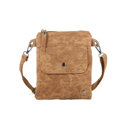Heup,- Cross BodyBag - Camel Snake