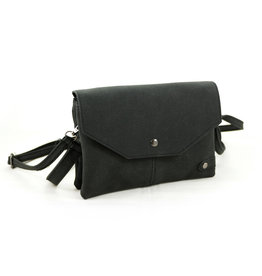 Heup,- Cross BodyBag Black - 19990