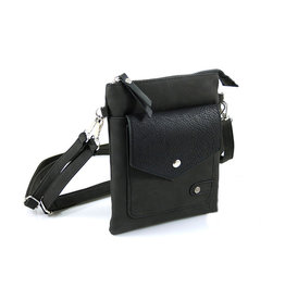 Heup,- Cross BodyBag Black  2