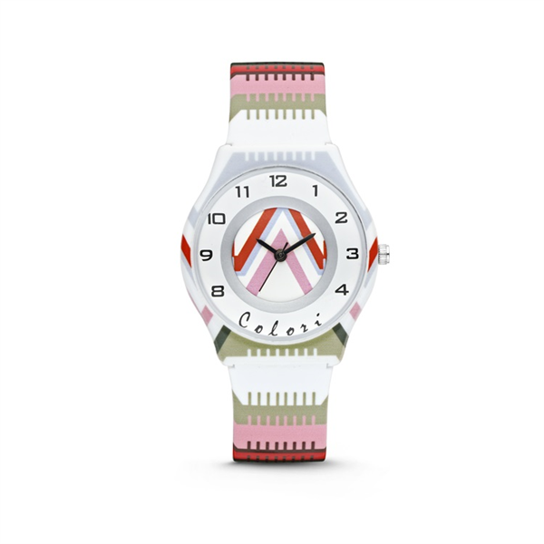 Colori Kinderhorloge 34MM Stripes 3ATM