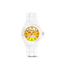 Colori Kinderhorloge 30MM Happy Smile 5ATM White