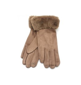 Dames Handschoenen Aiden Soft Fur -Brown