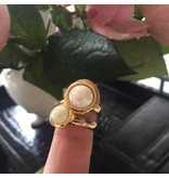 Ohlala Ringenset Golden Look - 10 mm Twist