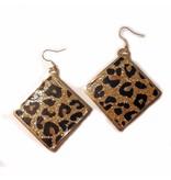 Sazou Jewels Oorbellen Leopard
