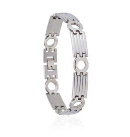 Edelstalen Armband Rounds - 23 cm