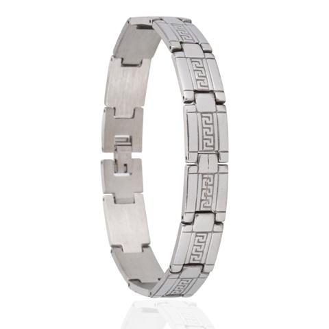 Edelstalen Armband Greece - 21 cm
