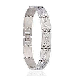 Edelstalen Armband Fantasy - 22 cm