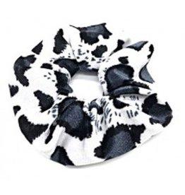 Scrunchie Animal Print Velvet