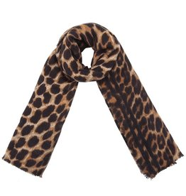 Sjaal Wild Leopard Brown