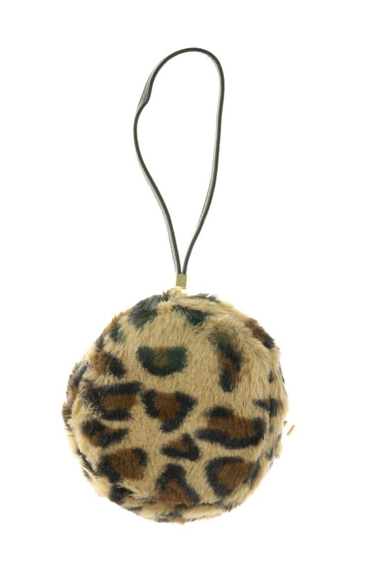 Mini Bol tasje Fluffy Leopard