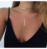 Ketting Layer Goud of Zilver