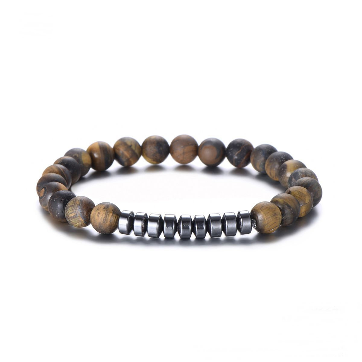 Armband Tiger - Just For Him - Natural Stones - Hematiet