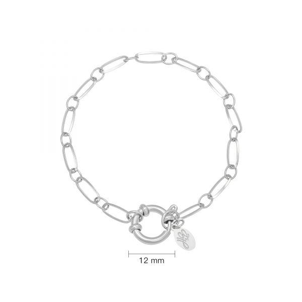 Schakel armband Stainless Steel Cora