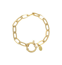 Armband Stainless Steel Gold Plated