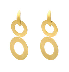 Oorbellen Stainless Steel Gold Plated