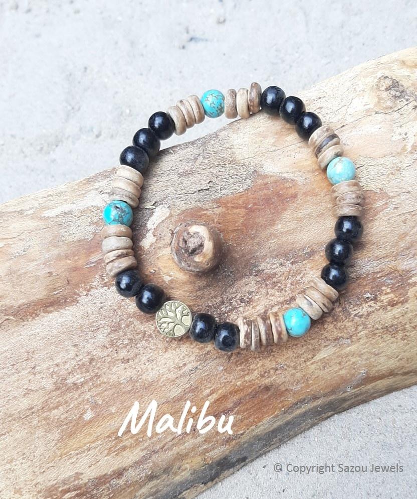 "Armband Malibu uit de collectie ""Back To Nature""  van Sazou Jewels"