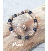 "Armband Mexico uit de collectie ""Back To Nature""  van Sazou Jewels"