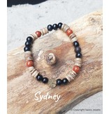 "Armband Sydney uit de collectie ""Back To Nature""  van Sazou Jewels"