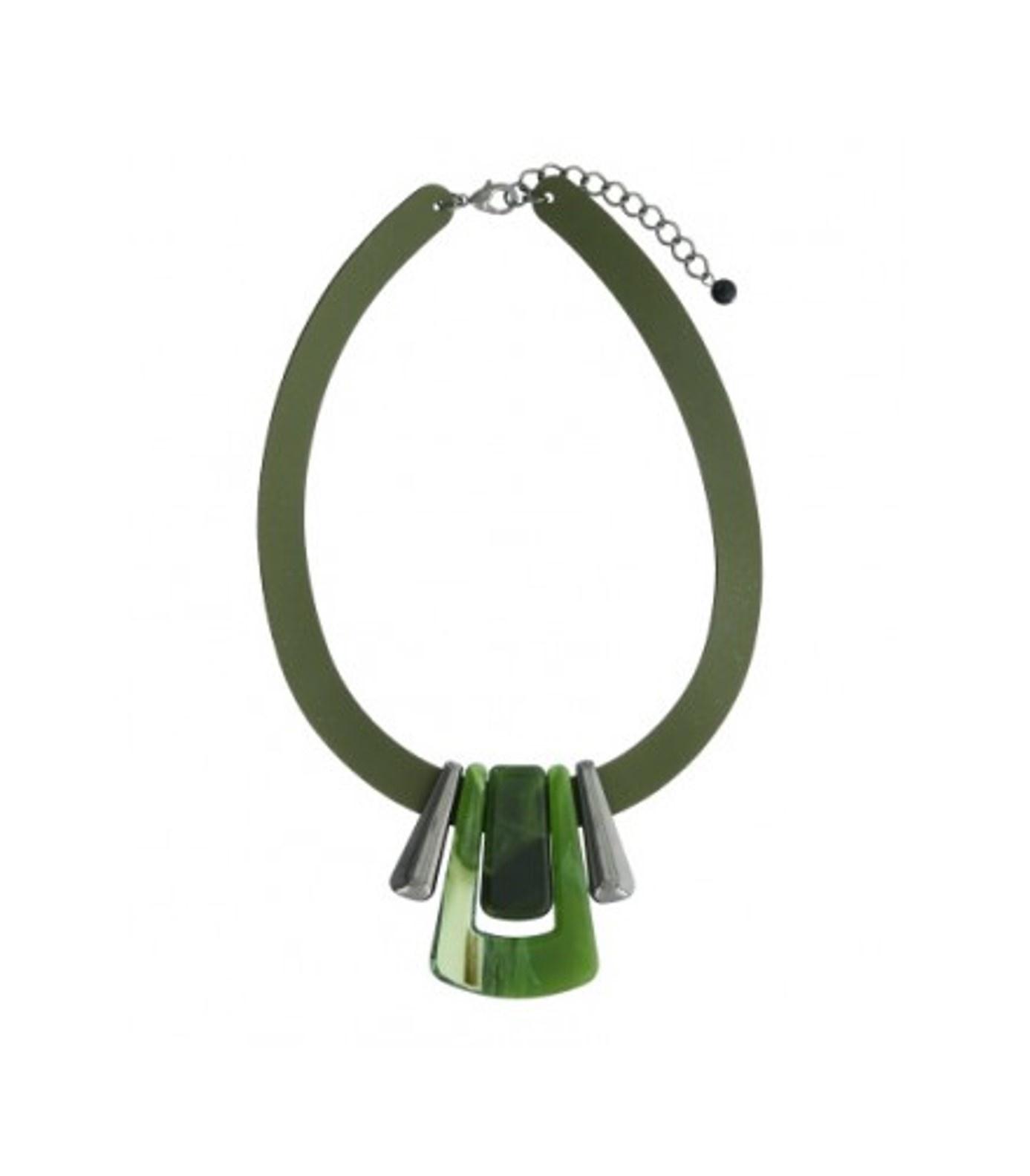 A-Zone Leren band ketting met fancy hangers