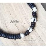 "Armband Afrika uit de collectie ""Back To Nature""  van Sazou Jewels"