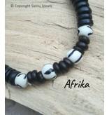 """Ketting Afrika uit de collectie """"Back To Nature""""  van Sazou Jewels"""