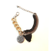 Beau Republic Armband Coins & Hearts by Beau Republic No3